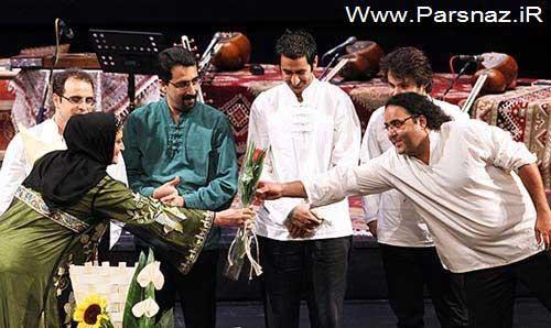 www.parsnaz.ir - خوانندگی این خانم بازیگر سرشناس در کنسرت تهران + عکس