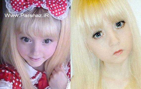 این دختر جوان مثل عروسک ها زندگی می کند (عکس)