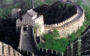 آخر دیوار چین به کجا وصل می شود! + (عکس)