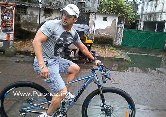 مشغله جدید سلمان خان ستاره سینمای هند + عکس