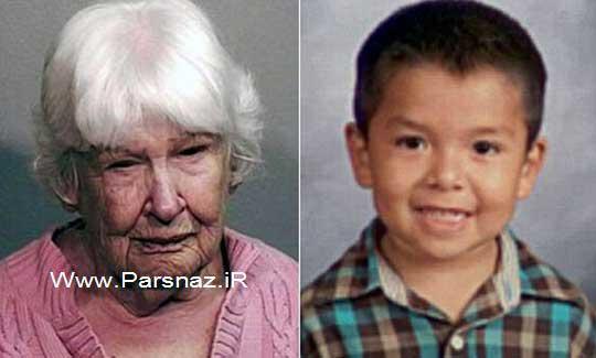 فرار کردن این خانم ۸۳ ساله از صحنه تصادف + عکس
