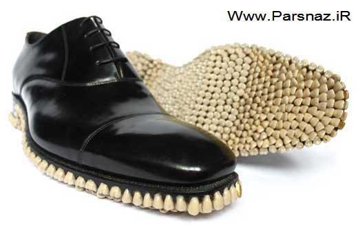 www.parsnaz.ir - چندش آورترین کفش مردانه توسط یک طراح خانم (+عکس)