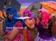 عکس رقص و شادی در زندان زنان