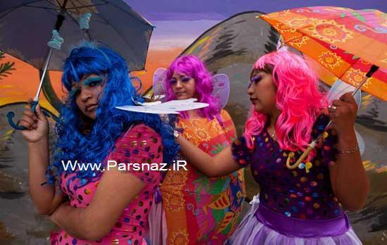 www.parsnaz.ir - رقص و شادی در زندان زنان + عکس