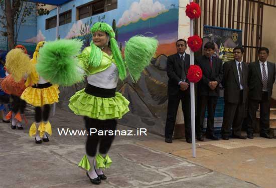 رقص و شادی در زندان زنان + عکس