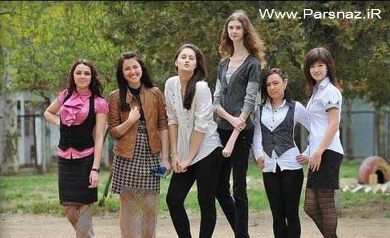 این دختر 19 ساله عجیب ترین اندام جهان را دارد + عکس