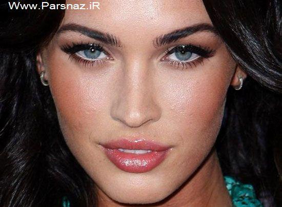 www.parsnaz.ir - عکس هایی از زیباترین چشم ها در بین زنان معروف هالیوود