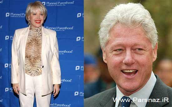 رابطه جنسی بیل کلینتون با این خانم بازیگر (عکس)