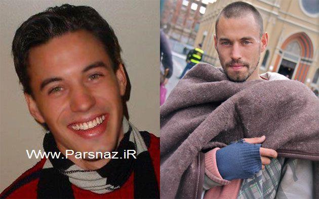 این مرد معتاد 30 ساله که چهره جذابش دل خیلی ها را ربود