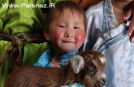 www.parsnaz.ir - این دختر عجیب با زبان گاوها حرف می زند