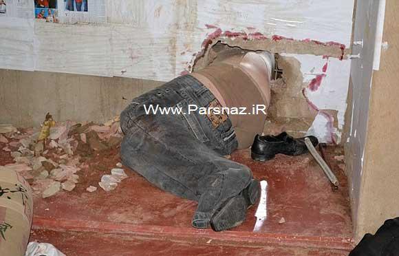 www.parsnaz.ir -  خنده دارترین و جالب ترین فرار از زندان در دنیا (عکس)