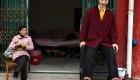 قد بلندترین دختر دنیا درکذشت (عکس)