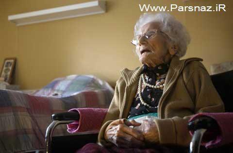 پیرترین خانم جهان در سن 116 سالگی از دنیا رفت