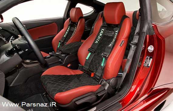 www.parsnaz.ir - اتومبیل زیبای جنسیس کوپه با تیونینگ فیول کالچرا