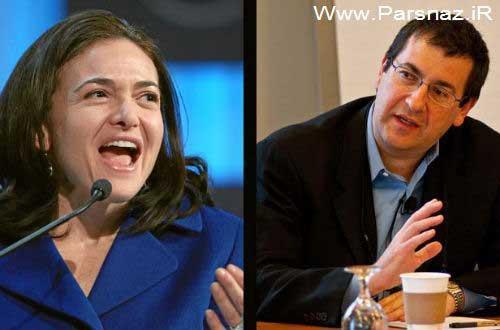 www.parsnaz.ir - ده زوج سرشناس و قدرتمند دنیای تکنولوژی (عکس)
