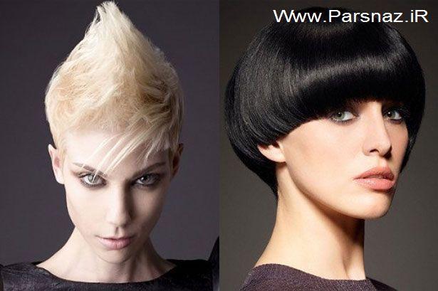 مدل موهای کوتاه دخترانه