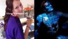 نقاشی های شگفت انگیز این خانم آلمانی روی بدن انسان