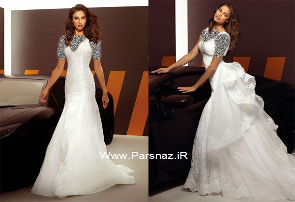 عکس هایی از نامزد کریستیانو رونالدو در مدل لباس عروس