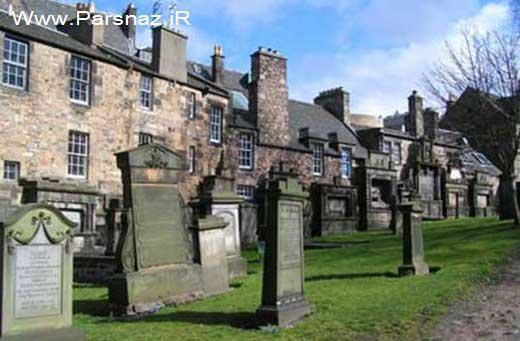 عکس قبرستان ترسناک