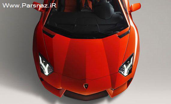 www.parsnaz.ir - اتومبیل جدید لامبورگینی آوانتادور در برزیل