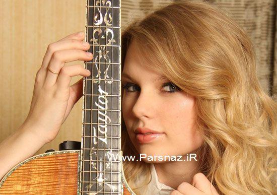 www.parsnaz.ir - درباره زندگی تیلور سوئیفت خواننده زیبا و جوان