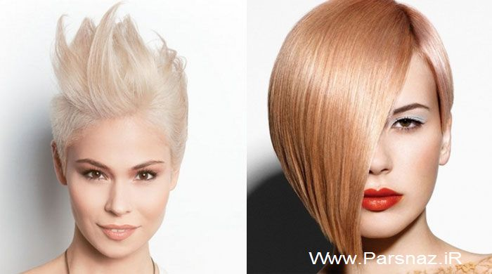 عکس های جدیدترین مدل موهای زنانه 2013