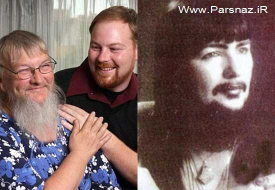 www.parsnaz.ir - این خانم ریش دار بعد از 33 سال پسر خود را پیدا کرد (عکس)