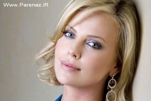 www.parsnaz.ir - درباره زندگی شارلیز ترون بازیگر زیبای هالیوود (عکس)