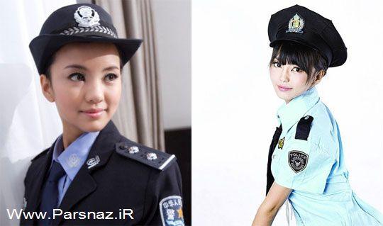 جعل هویت افسر پلیس توسط مدل 23 ساله چینی