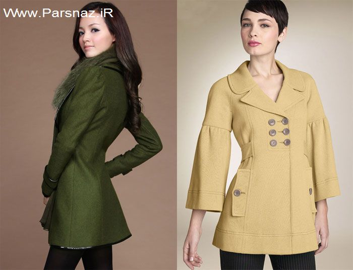 عکس هایی از مدل های جدید پالتو دخترانه