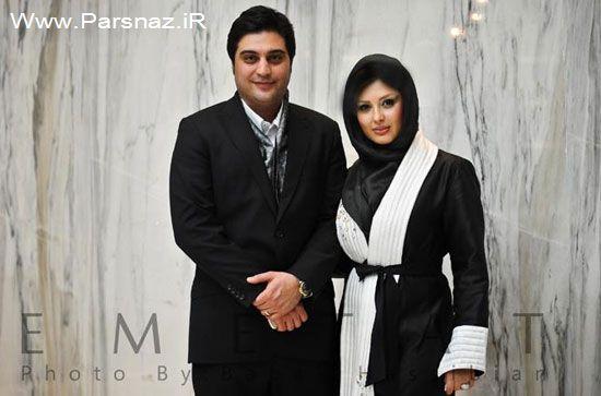 www.parsnaz.ir - شایعه اختلاف نیوشا ضیغمی و همسرش؟