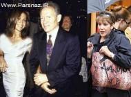 عکس جنیفر لوپز در کنار پدر و مادرش