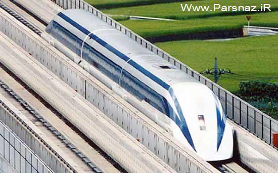 www.parsnaz.ir -  قطار جدید ژاپنی ها با سرعتی باورنکردنی (عکس)