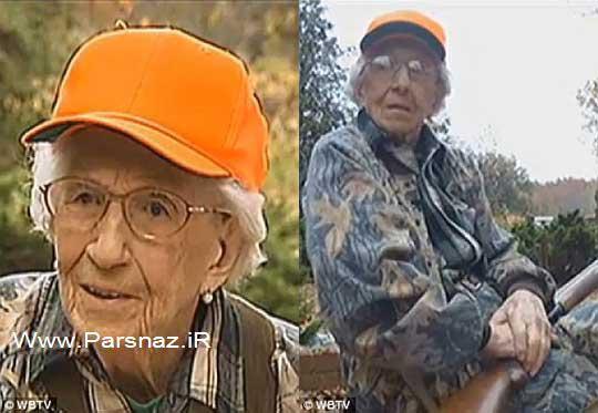 این خانم 97 ساله شکارچی از زندگی خود می گوید