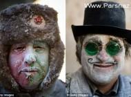 عکس های دیدنی از جشنواره جالب و خنده دار در اسپانیا