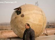 عکس های جالب از ابتکار عجیب این چینی برای روز قیامت