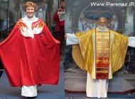 عکس های جالب از مانکن شدن کشیش ها