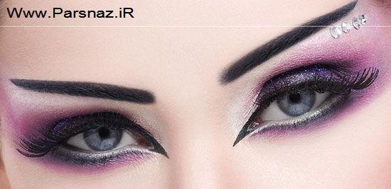 لباس ست زوج مدل های جدید و زیبای آرایش چشم و ابرو
