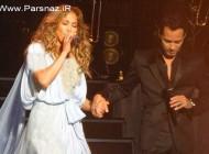کنسرت دوستانه جنیفر لوپز با همسر سابقش مارک انتونی