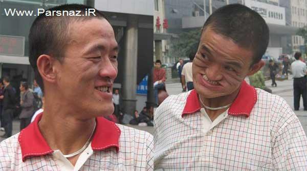 www.parsnaz.ir - تصاویری از کار خارق العاده و بسیار جالب این مرد را ببینید