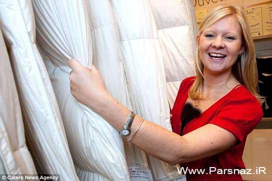 به نظر شما آیا این خانم بهترین شغل دنیا را دارد؟ (عکس)