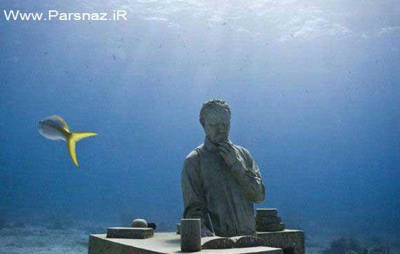 www.parsnaz.ir - عکس هایی از بزرگترین موزه جهان در زیر آب