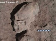 پیدا شدن جمجمه ای عجیب در مکزیک (عکس)