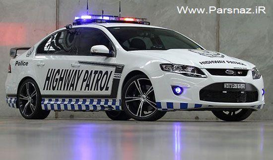 فالکون جی تی قدرتمند ترین ماشین پلیس استرالیا (عکس)