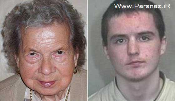 تجاوز وحشیانه پسر 21 ساله به پیرزن 95 ساله!! (عکس)