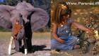 تا حالا دختر تارزان واقعی دیده اید (عکس)