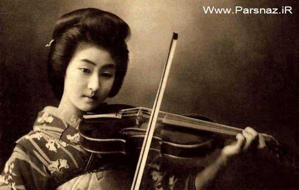 www.parsnaz.ir - عکس های زیباترین دختر ژاپن در 100 سال پیش