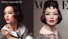 اولین مدل آسیایی روی جلد مجله معروف ایتالیایی! (عکس)