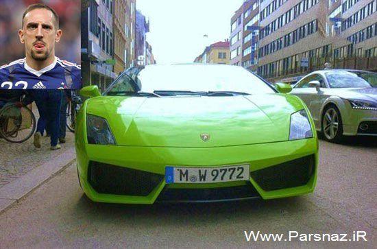 www.parsnaz.ir - فوتبالیست های معروف دنیا چه ماشین های دارند؟ (عکس)
