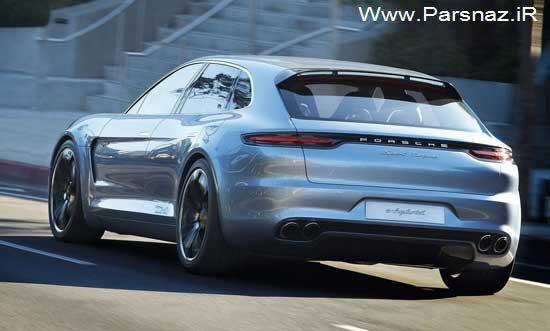 www.parsnaz.ir - اتومبیل جدید پورشه پانامرا اسپرت توریسمو (عکس)